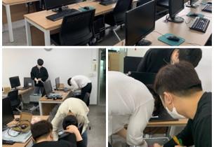 [2020.05.20] 복지관 PC 물품 설치