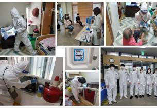[2020.10.21]  코로나19 안전드림(DREAM)프로젝트 방문 건강체크 및 위생 방역 활동